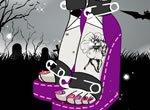 Pedicure da Monster High Rochelle Goyle