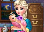 Frozen Elsa e seu Bebê