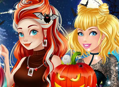 Halloween das Princesas da Disney